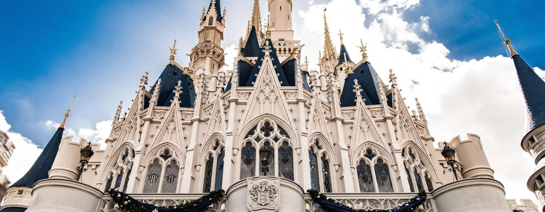 Imagen del castillo de Disney